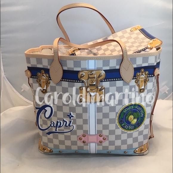 Louis Vuitton Trunk Summer  Capri  Neverfull MM 7944e1430ffea